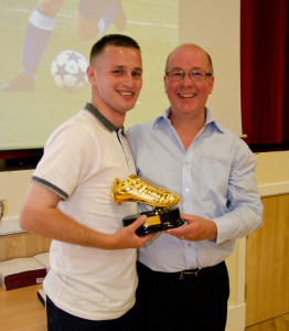 Ian Watt Top Goal Scorer 2014 presented by William Barr